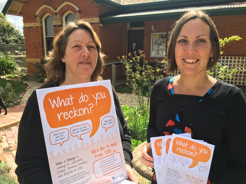 Making a Change in the Lancefield region