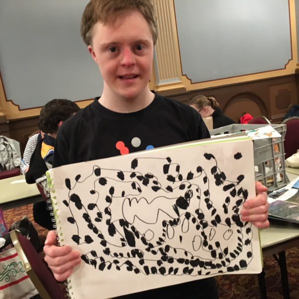 Nicholas draws inspiration from the natural world
