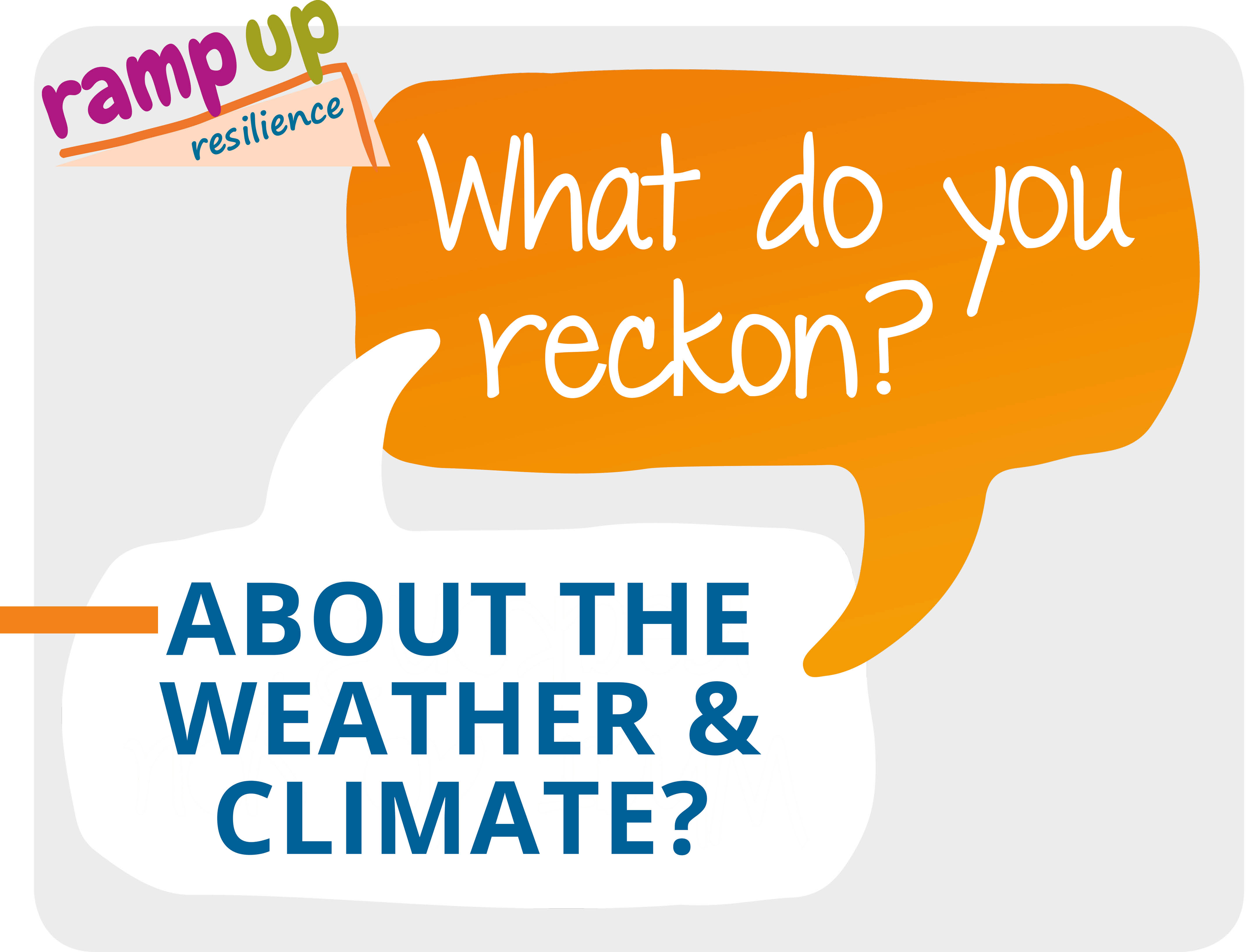 Weather and climate – tell us what you reckon!